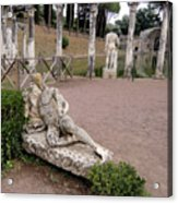 Hadrians Villa Acrylic Print