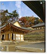 Haeinsa Buddhist Temple Acrylic Print