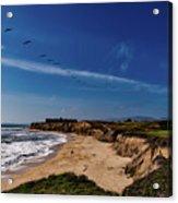 Half Moon Bay Golf Course - California Acrylic Print