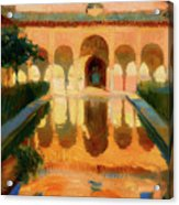 Hall Of The Ambassadors -  Alhambra Granada Acrylic Print