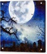 Halloween Horror Night Acrylic Print