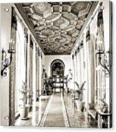 Hallway Of Elegance Acrylic Print