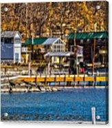 Hammondsport Docks Acrylic Print