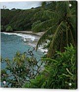 Hamoa Beach Maui Hawaii Acrylic Print