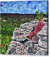 Hanging Rock State Park Acrylic Print