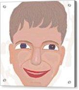 Happy Boy Acrylic Print
