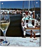 Harbor View. Acrylic Print