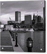 Harbor Walk Acrylic Print