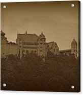 Harburg Castle - Digital Acrylic Print