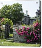 Harkness Memorial Park Flowers Acrylic Print