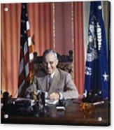 Harry S. Truman Acrylic Print