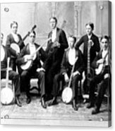 Harvard Banjo Club 1893 Acrylic Print