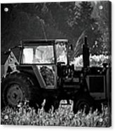 Harvesting The Fields Acrylic Print