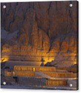 Hatshepsuts Mortuary Temple Rises Acrylic Print