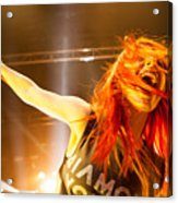 Hayley Williams Acrylic Print