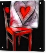 Heart Int Heart Acrylic Print