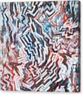 Heart Of Slate Acrylic Print