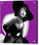 Hedy Lamarr C.1947-2013 Acrylic Print
