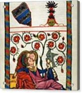 Heidelberg Lieder, 14th C Acrylic Print