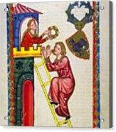 Heidelberg Lieder, C.14th Acrylic Print
