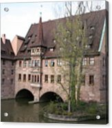 Heilig Geist Spital - Nuremberg Acrylic Print