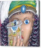 Her Jarflies Acrylic Print