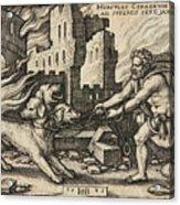 Hercules Capturing Cerberus Acrylic Print