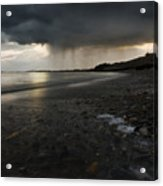 Here Comes The Rain Acrylic Print