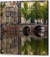 Herengracht Canal. Amsterdam. Netherlands. Europe Acrylic Print
