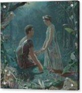 Hermia And Lysander Acrylic Print