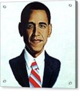 He's The Bomb Obama Acrylic Print