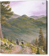 High Country Trails Acrylic Print