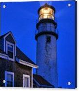 Highland Lighthouse Acrylic Print by John Greim