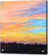 Hill Country Sunrise Acrylic Print
