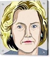 Hillary Acrylic Print