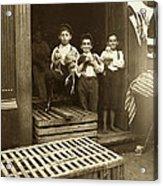 Hine: Child Labor, 1908 Acrylic Print