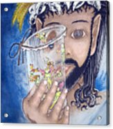 His Jarflies Acrylic Print