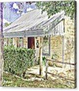 Limestone Cottage Acrylic Print