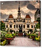Ho Chi Minh City Hall Acrylic Print