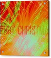Holiday Burst Acrylic Print