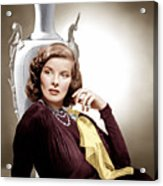 Holiday, Katharine Hepburn, 1938 Acrylic Print by Everett