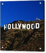 Hollywood Sign Los Angeles Ca Acrylic Print