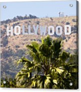 Hollywood Sign Photo Acrylic Print
