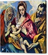 Holy Family With St Anne Acrylic Print