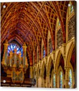 Holy Name Organ Loft Acrylic Print