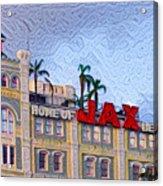 Home Of Jax Beer Acrylic Print
