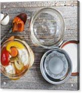 Homemade Preserved Vegetables Acrylic Print
