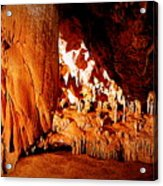 Hometown Series - Luray Caverns Acrylic Print