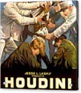 Houdini In The Grim Game 1919 Acrylic Print