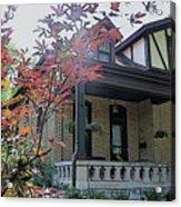 House In German Village Acrylic Print